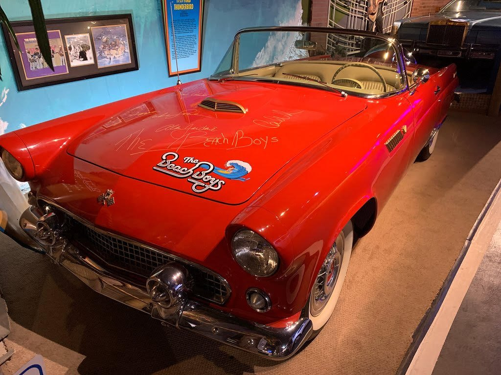 Beach Boys car at Hollywood Star Cars Museum in Gatlinburg