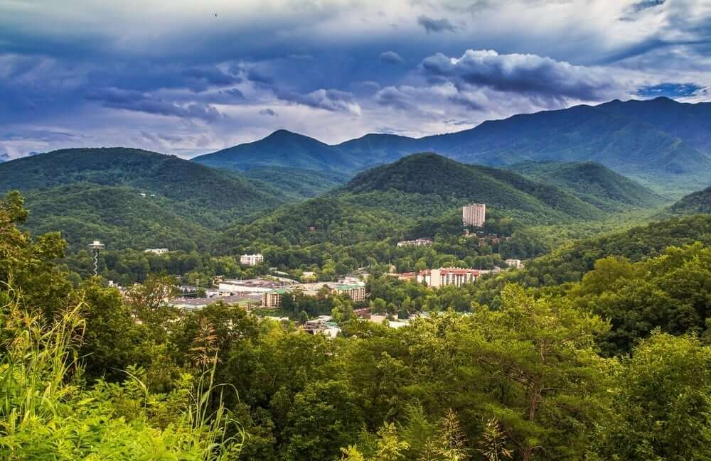 Gatlinburg Scenic Overlook in Gatlinburg