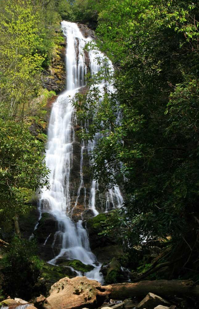 mingo falls - cherokee nc