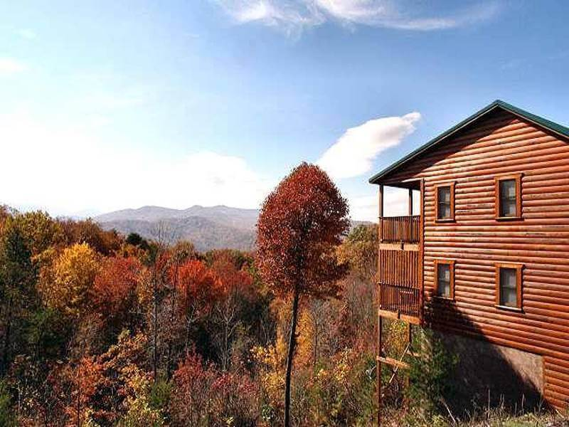 diamond mountain cabin in the smoky mountains