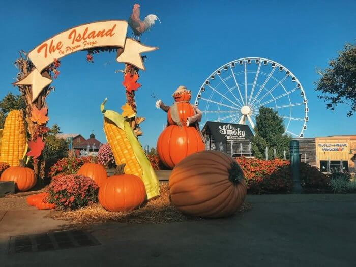 Fall at The Island Pigeon Forge