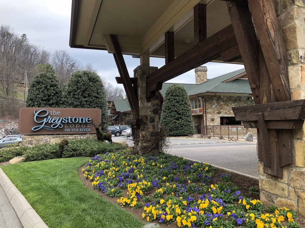 Greystone Lodge on the River in downtown Gatlinburg