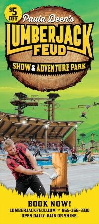 Paula Deen's Lumberjack Feud Show & Adventure Park