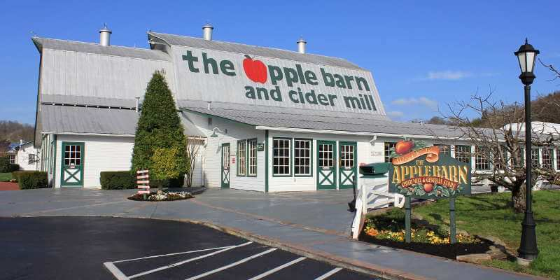 the Apple Barn of Sevierville, TN