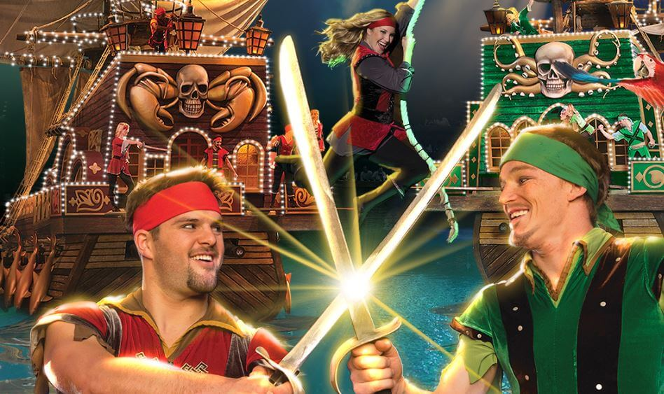 Christmas at Pirates Voyage Dinner & Show in Pigeon Forge - holidays in the smokies