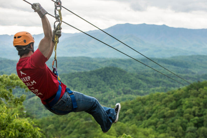 Legacy Mountain Premier Ziplines of Sevierville, Tennessee