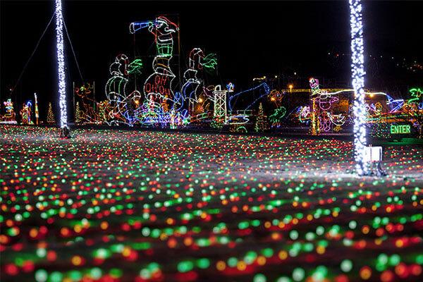 Shadrack's Christmas Wonderland - holidays in the smokies