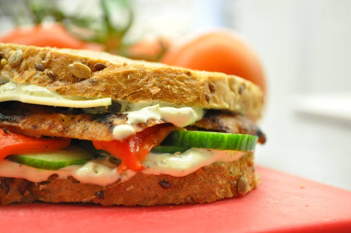 toasted sandwich from Healthy Balance Meals of Sevierville, TN