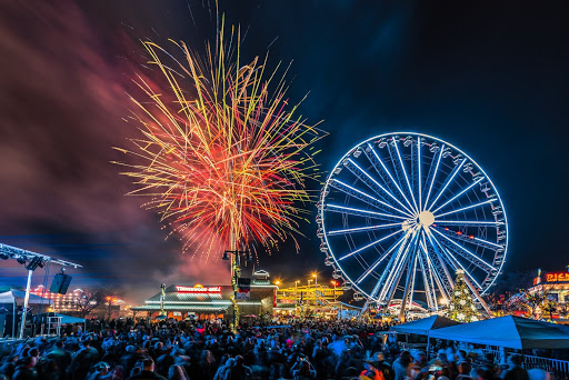 New Years at The Island in Pigeon Forge