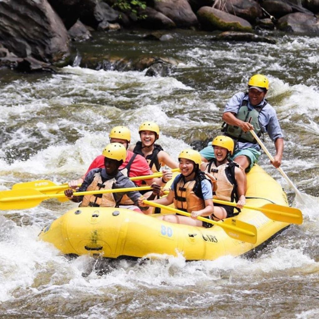 Whitewater rafting at Rafting in the Smokies, Great Smoky Mountains National Park
