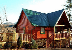 Cabin in the Mountains - Diamond Mountain Rentals Gatlinburg
