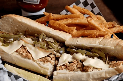 Cheesesteak Sandwich from J.O.E. and Pop's Sub Shoppe Gatlinburg