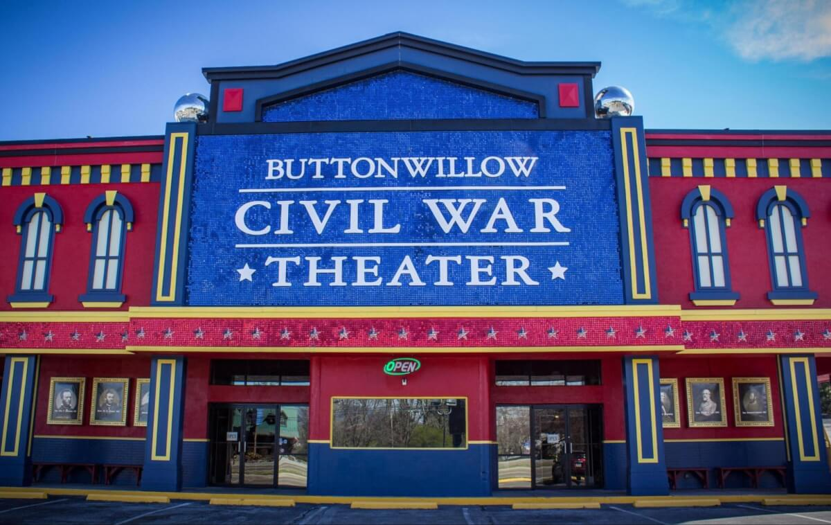 Button Willow Civil War Theater - Entertainment in Pigeon Forge, TN
