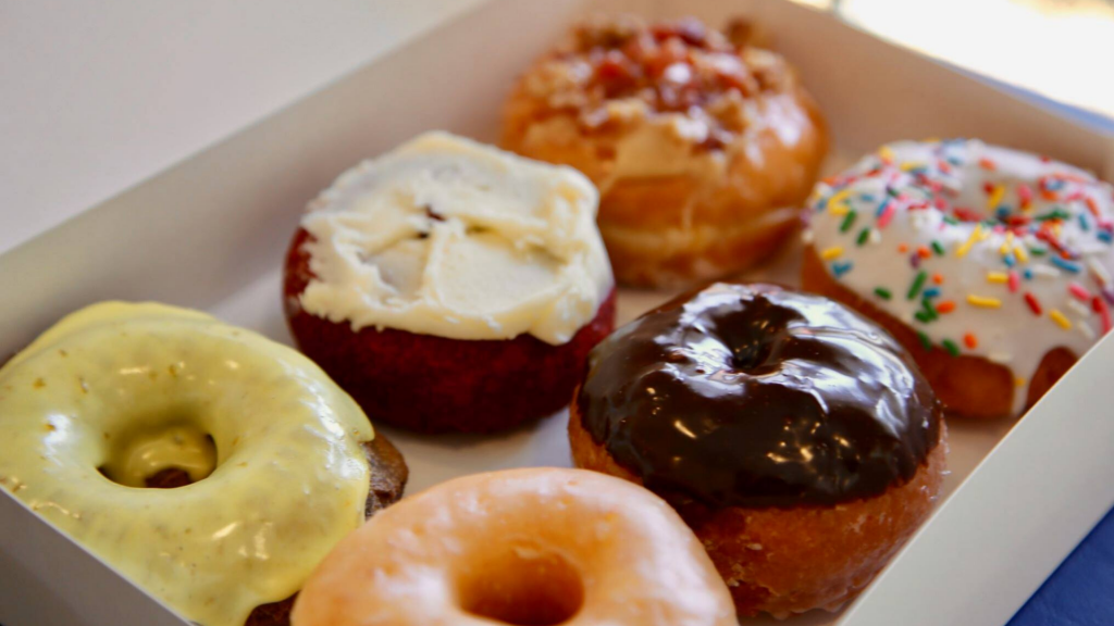 Gourmet Donuts from Mad Dogs' Cremery