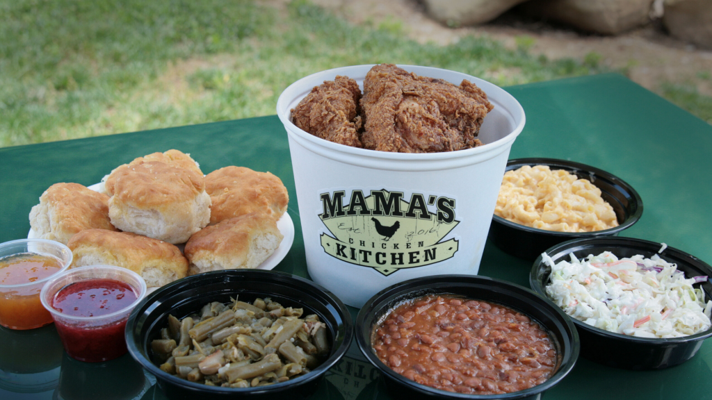 Fried Chicken and Fixins from Mama's Chicken Kitchen