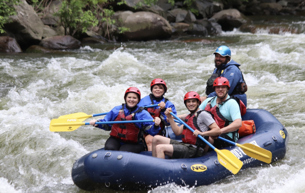 Big Creek Expeditions - Group whitewater rafting