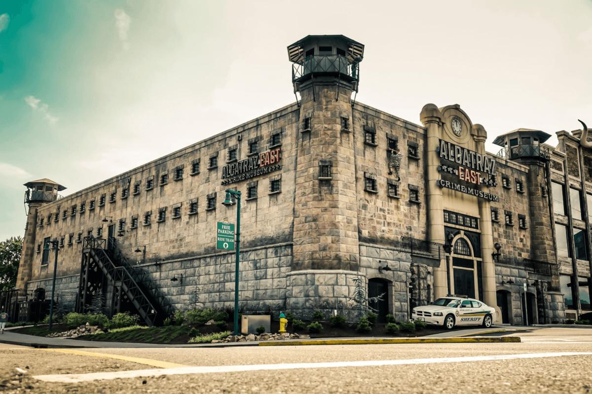 Alcatraz East Crime Museum - Pigeon Forge