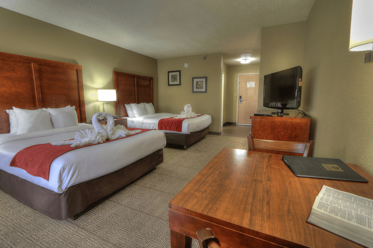 clean hotel room - Comfort Inn & Suites at Dollywood Lane