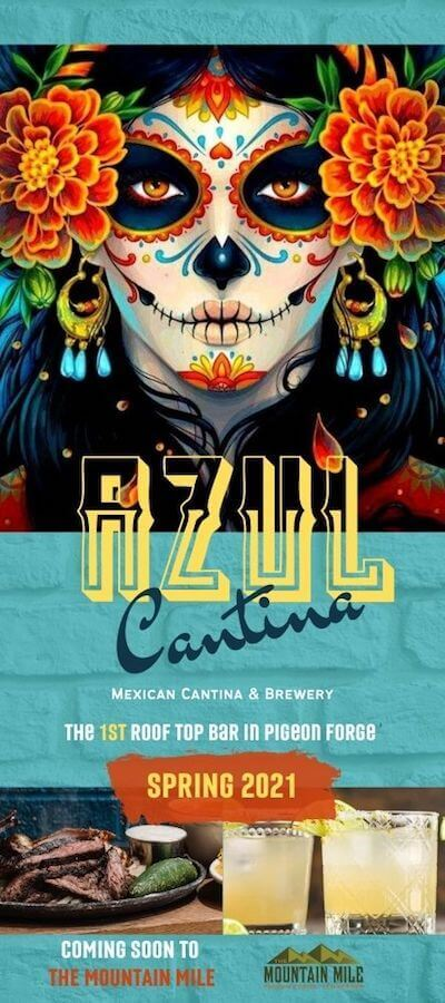 Azul Mexican Cantina & Brewery Brochure Image