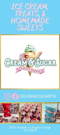 Cream & Sugar Sweet Shoppe