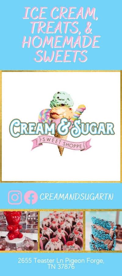 Cream & Sugar Sweet Shoppe