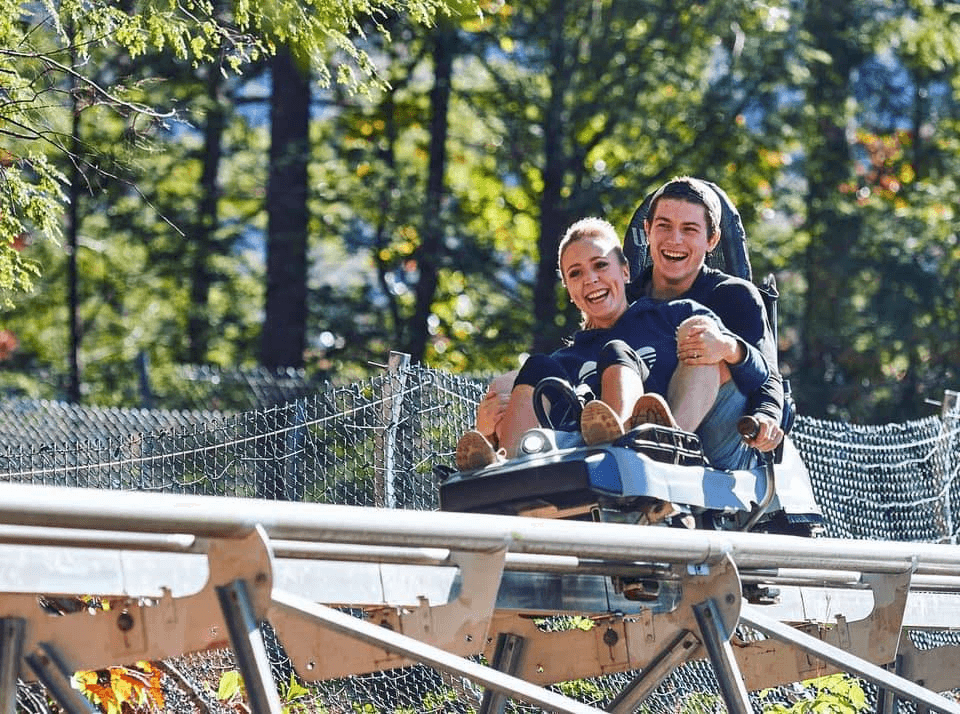 outdoor activities at Rowdy Bear Mountain
