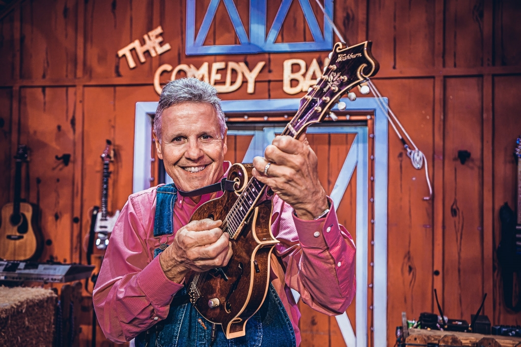 musician at Comedy Barn