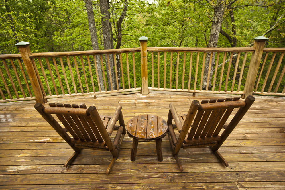 romantic cabin in Pigeon Forge