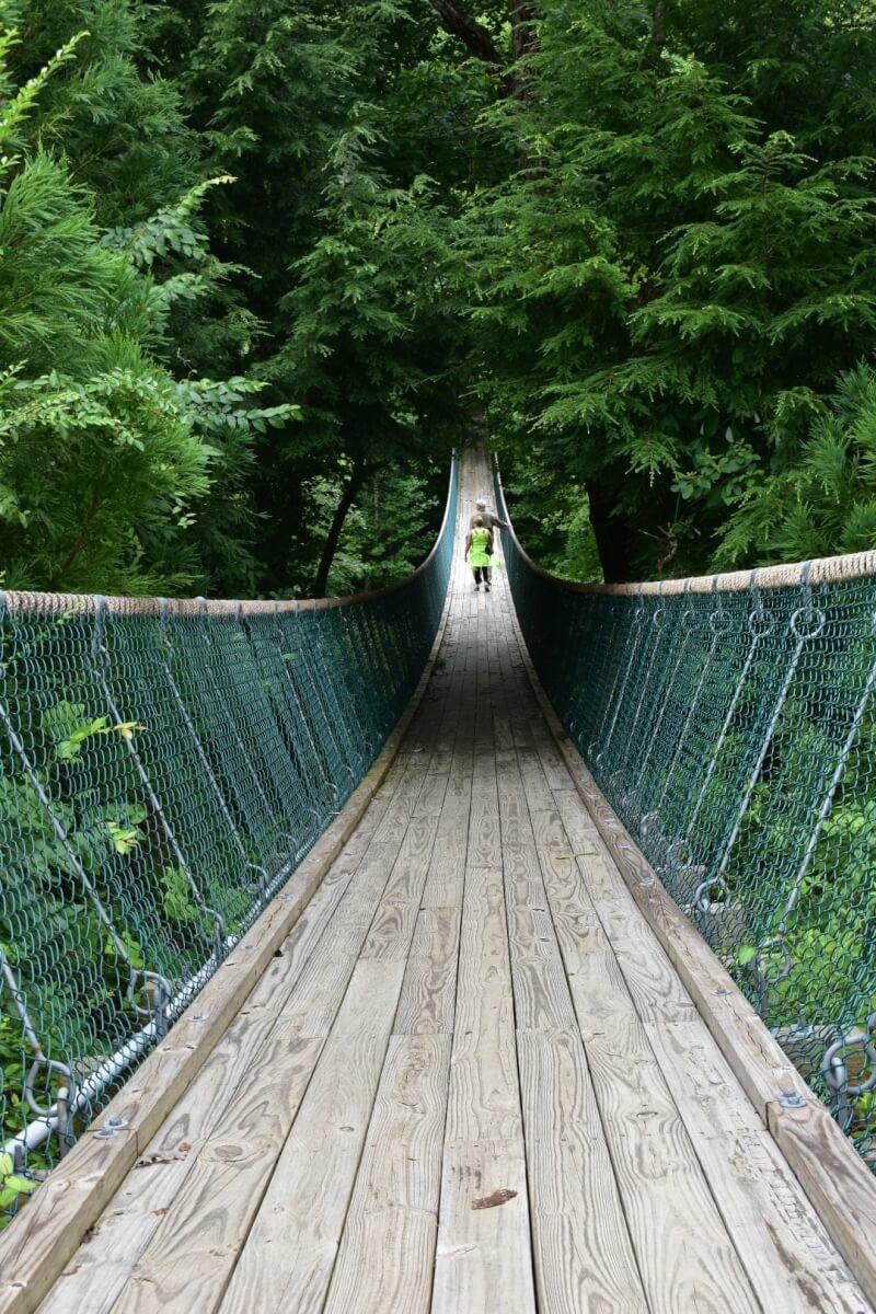 America's Longest Swinging Bridge of Sevierville, Tennessee