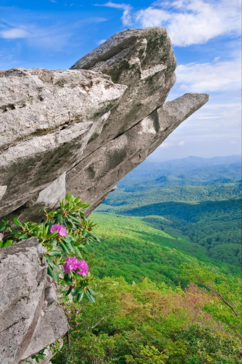 Things to do in Pigeon Forge for hikers - Chimney Tops Trail