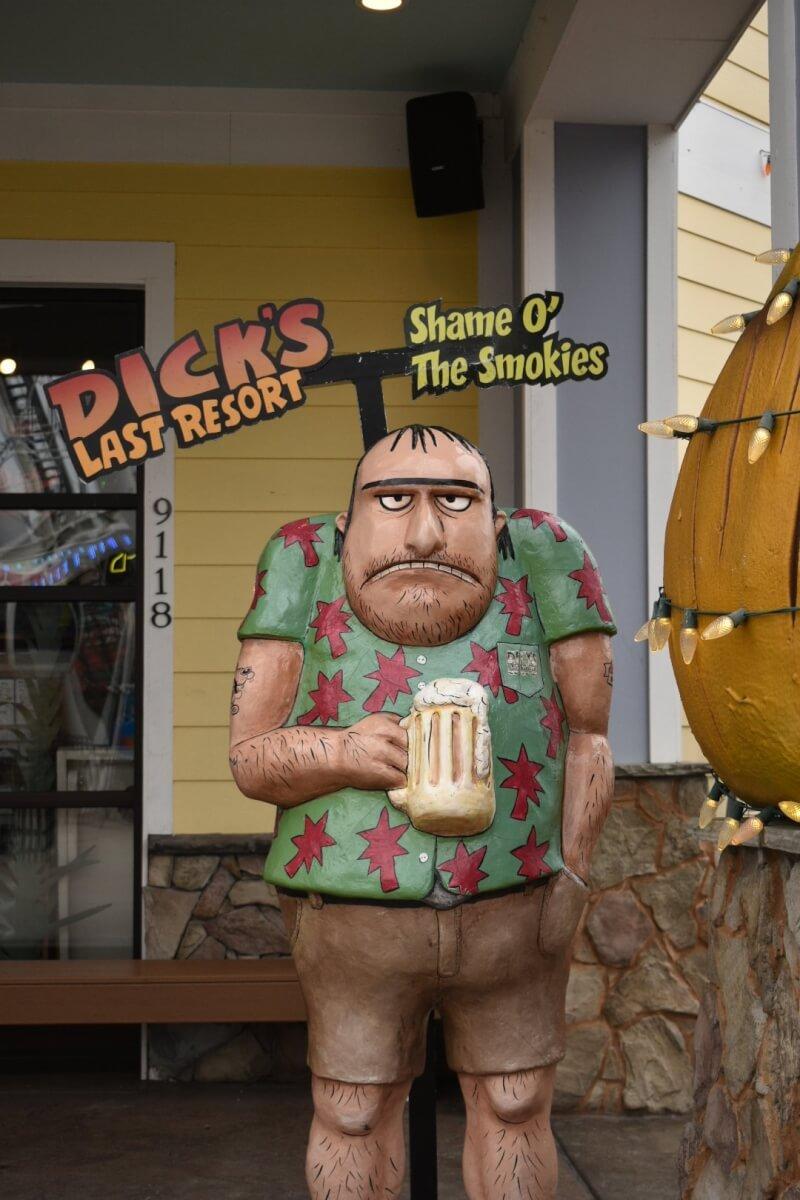 Dick's Last Resort - Gatlinburg Tennessee Foodies