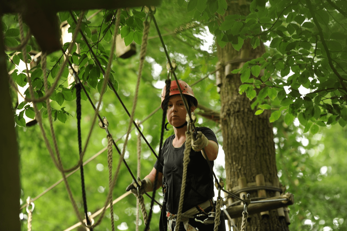 Things to do in Gatlinburg - Gatlin's Rugged Ropes Adventure Course
