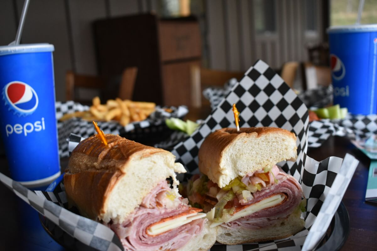 Sandwich from J.O.E. and Pop's Sub Shoppe Gatlinburg