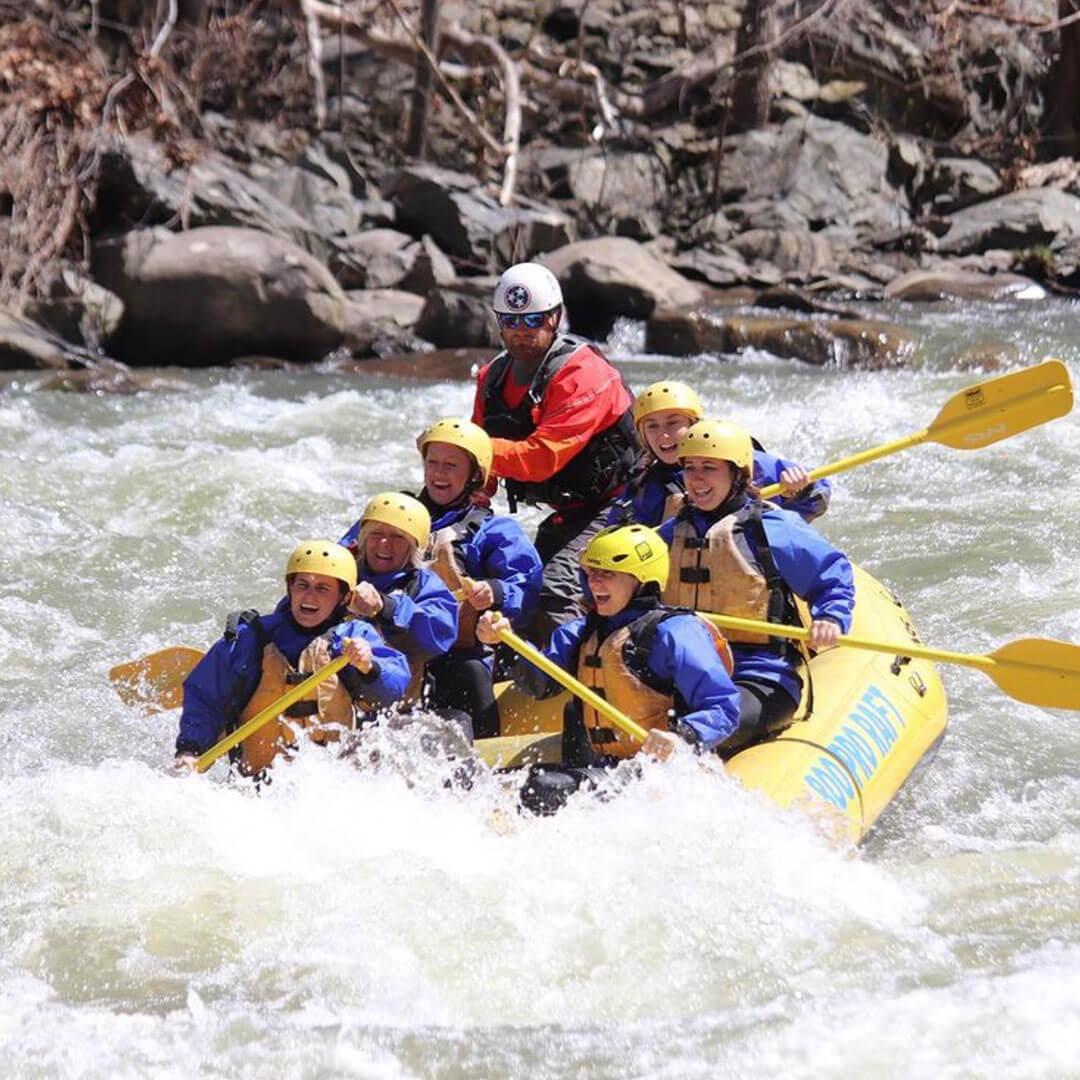 Rafting In The Smokies - Gatlinburg Adventure