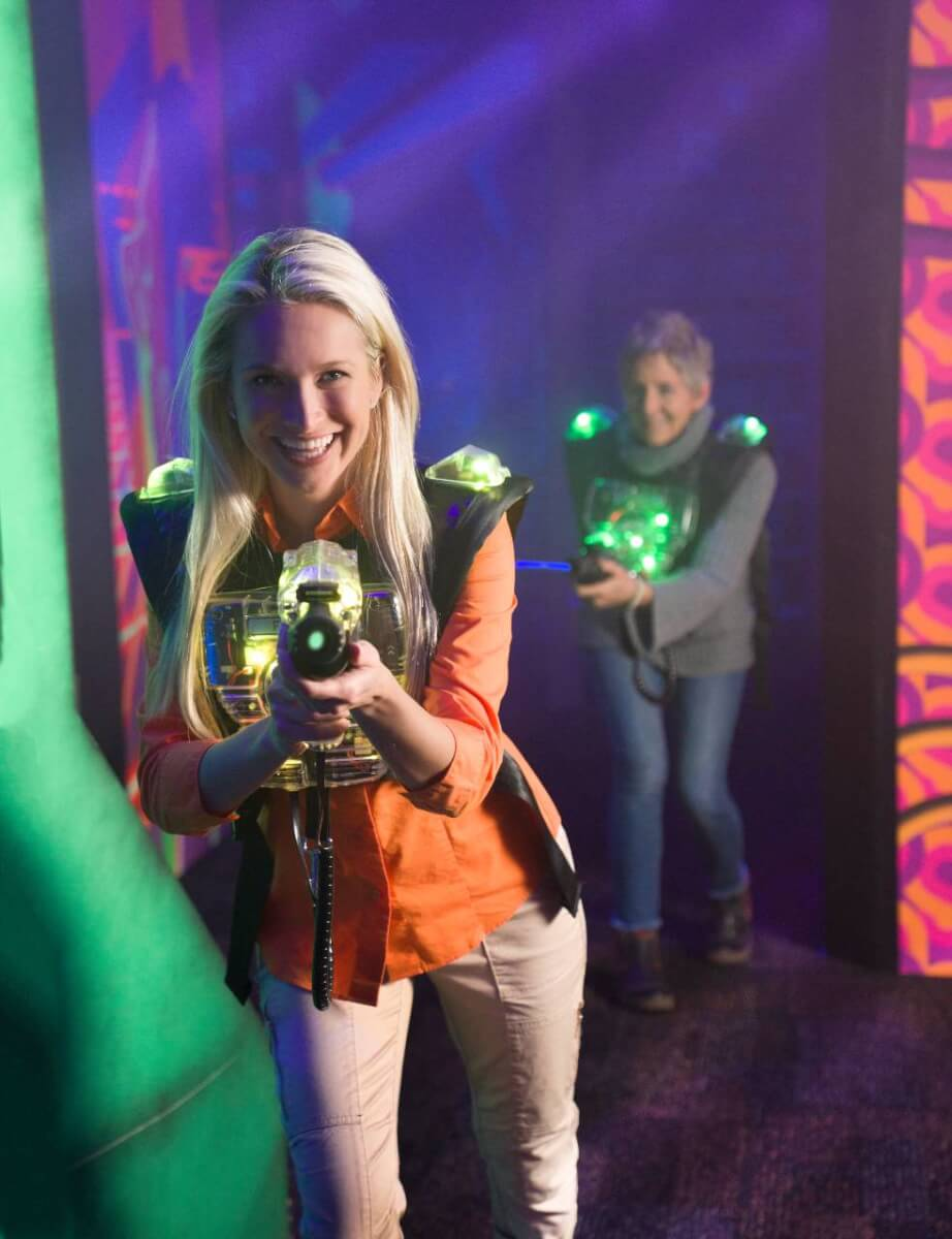 Laser Tag at Ripley's Super Fun Zone