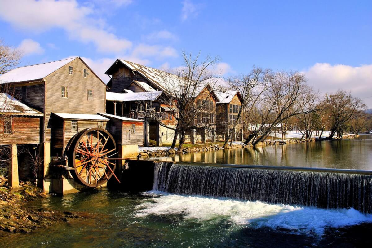 The Old Mill of Pigeon Forge, TN