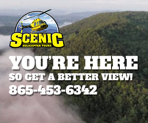 Scenic Helicopter Tours - Get a view of the Smoky Mountains like you've never seen before!