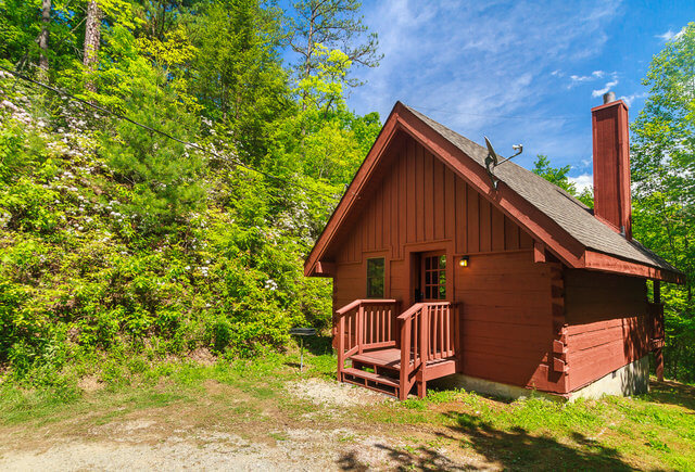Mountain Lake Cabins #1 Serenity Studio
